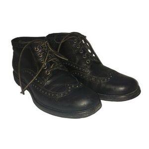 Frye Boots Phillip Lug Wingtip Chukka Boots